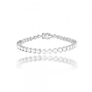 Clover Tennis Bracelet